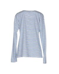 Chinti & Parker - Blue T-shirt - Lyst