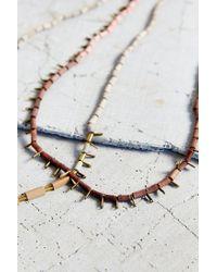 Erin Considine - Natural X Uo Nouveau Bead Necklace - Lyst