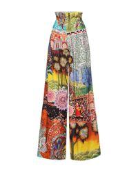 Stella Jean Multicolor Reading Trouser
