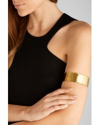 Arme De L'Amour - Metallic Bamboo Gold-plated Arm Cuff - Lyst