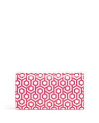 Mischa   Pink Continental Wallet   Lyst