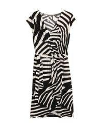 H&M Black Wraparound Dress