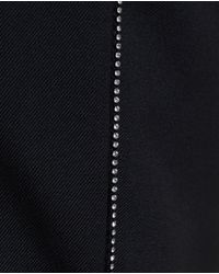 Saint Laurent - Black Crystal Embellished Trousers for Men - Lyst
