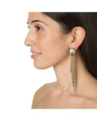 Auden | Metallic Nova Fringe Earrings | Lyst