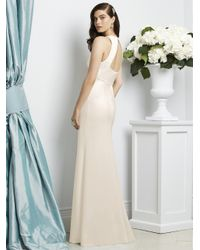 Dessy Collection - White Dress In Ivory - Lyst