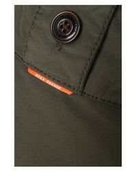 BOSS Orange - Green Short Parka 'orgent1-w' In Cotton Blend for Men - Lyst