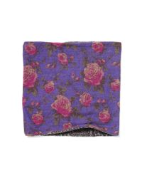 Ralph Lauren - Purple Padova Wool Snood - Lyst