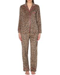 DKNY | Multicolor Checked Flannel Pyjama Set | Lyst