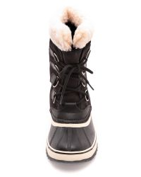 Sorel - Winter Carnival Boots - Pewter/Black - Lyst