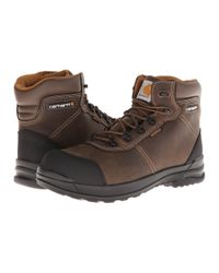 Carhartt Brown 6-inch Stomp Light™ Waterproof Work Boot for men