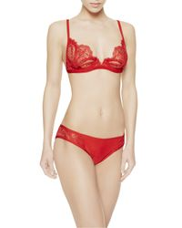 La Perla | Red Triangle Bra | Lyst