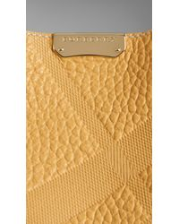 Burberry | Brown The Small Canter In Bonded Leather | Lyst