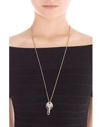 Marc By Marc Jacobs - Metallic Double Key Necklace - Gold - Lyst