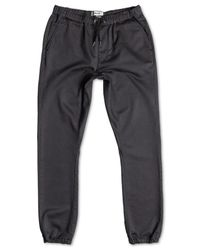 Quiksilver | Gray Fonic Slim-fit Twill Joggers for Men | Lyst