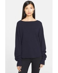 Helmut Lang - Black Cashmere Sweater - Lyst