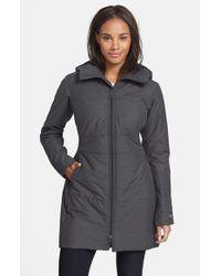 Arc'teryx Black 'darrah' Water Resistantcoat