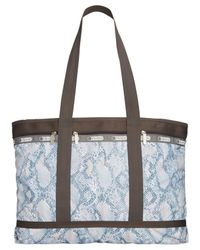 LeSportsac | Blue Large Travel Tote | Lyst