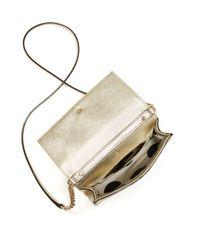kate spade new york - Cedar Street Cami Metallic Mini Bag - Lyst