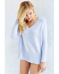 BDG | Purple Jordan V-neck Sweater | Lyst