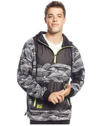 LRG | Black Big And Tall Force Of Nature Hoodie for Men | Lyst