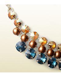 Gucci | Blue Embellished Necklace | Lyst