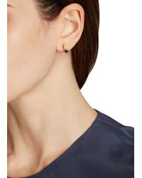 Iosselliani - Metallic Swarovski Crystal Gold-Plated Earrings - Lyst