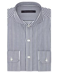 Sean John - Midnight Blue Stripe Dress Shirt for Men - Lyst