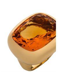 Kiki McDonough - Orange Citrine & Yellow-Gold Ring - Lyst