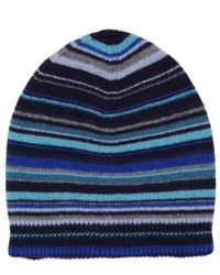 Paul Smith | Gray Mens Classic Striped Hat for Men | Lyst