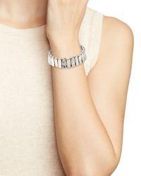 Uno De 50 | Metallic Brick By Brick Bracelet | Lyst