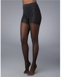 Spanx | Black All The Way Sheer Support | Lyst