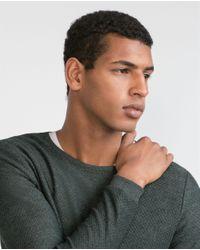 Zara | Gray Structured Sweater for Men | Lyst
