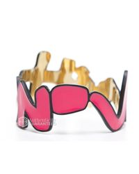 Louis Vuitton | Pre-owned Pink Graffiti Bracelet | Lyst