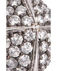 Sidney Garber - Metallic Pyramid Ring - Lyst