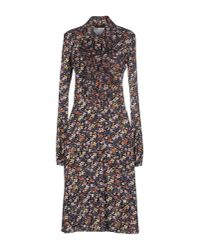 Roberta Scarpa - Blue Knee-length Dress - Lyst