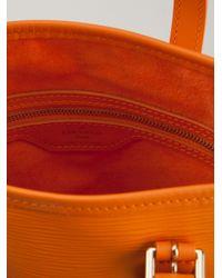 Louis Vuitton Orange Bucket Bag