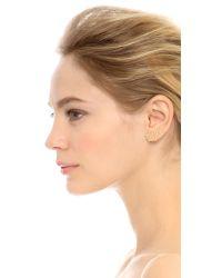 Noir Jewelry | Metallic Abridged Mix Match Earring Set - Gold/clear | Lyst