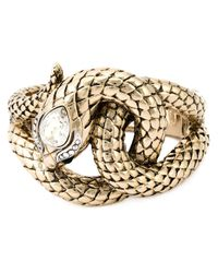 Roberto Cavalli | Metallic Snake Bracelet | Lyst