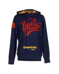 Franklin & Marshall - Blue Sweatshirt for Men - Lyst