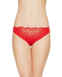 La Perla | Red Thong | Lyst