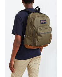 Jansport Green Right Pack Backpack for men