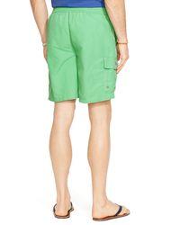 Ralph Lauren - Green Polo Kailua Swim Trunks for Men - Lyst