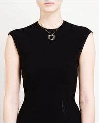 Rosa De La Cruz | Black Brown Diamond Eye Necklace | Lyst