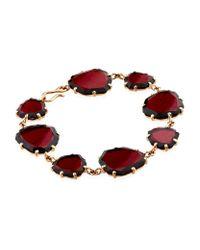 Annoushka - Red Shard Bracelet - Lyst