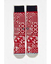 Stance - Red Arthur Sock - Lyst