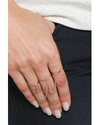 Eddie Borgo | Pink Five-finger Ring | Lyst