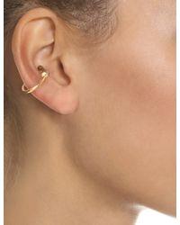 Bjorg   Metallic Gold Mysteries Of Then Ear Cuff   Lyst