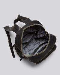 Ash - Black Backpack Domino Stud - Lyst