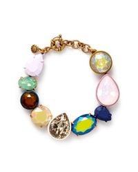 J.Crew | Multicolor Mixed Hue Bracelet | Lyst