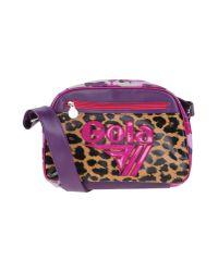 Gola - Purple Cross-body Bag - Lyst